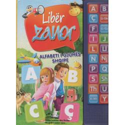 Alfabeti i gjuhes shqipe, liber zanor
