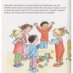 Koni feston ditelindjen, Liane Schneider, Eva Wenzel-Burger