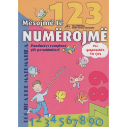 Mesojme te numerojme per grupmoshen 4 - 6 vjec