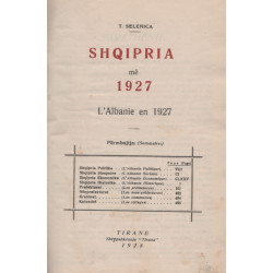 Shqipria me 1927, T. Selenica