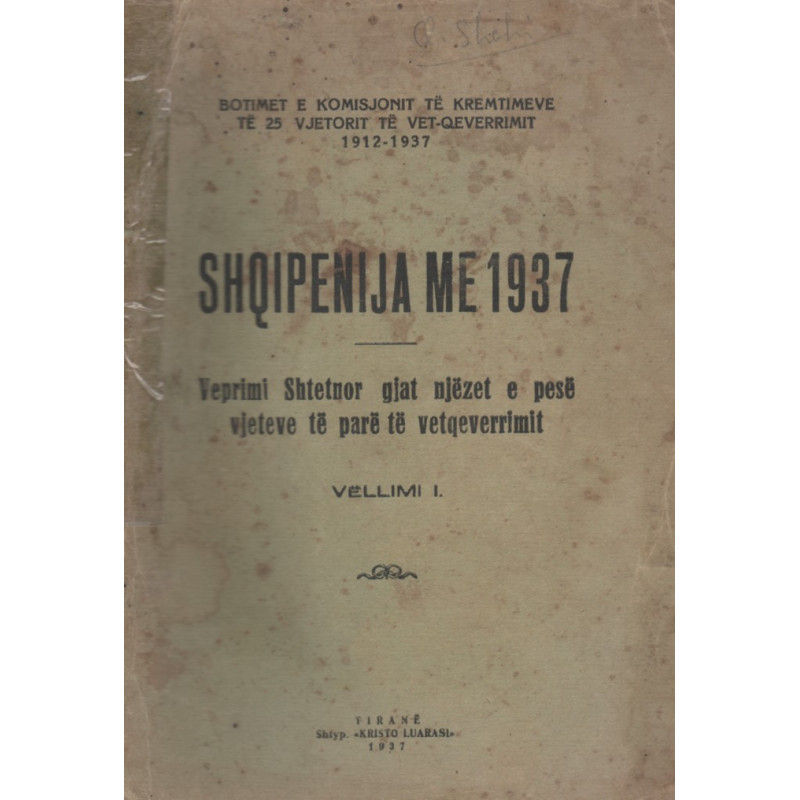 Shqipenija me 1937