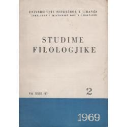 Studime filologjike 1969, vol. 2
