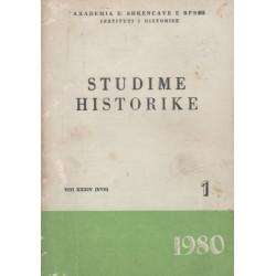 Studime historike 1980, vol. 1
