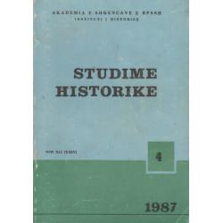 Studime historike 1987, vol. 4