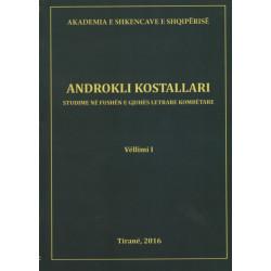 Studime ne fushen e gjuhes letrare kombetare, Androkli Kostallari, vol. 2