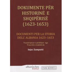 Dokumente për historinë e Shqipërisë 1623 – 1653, Injac Zamputti
