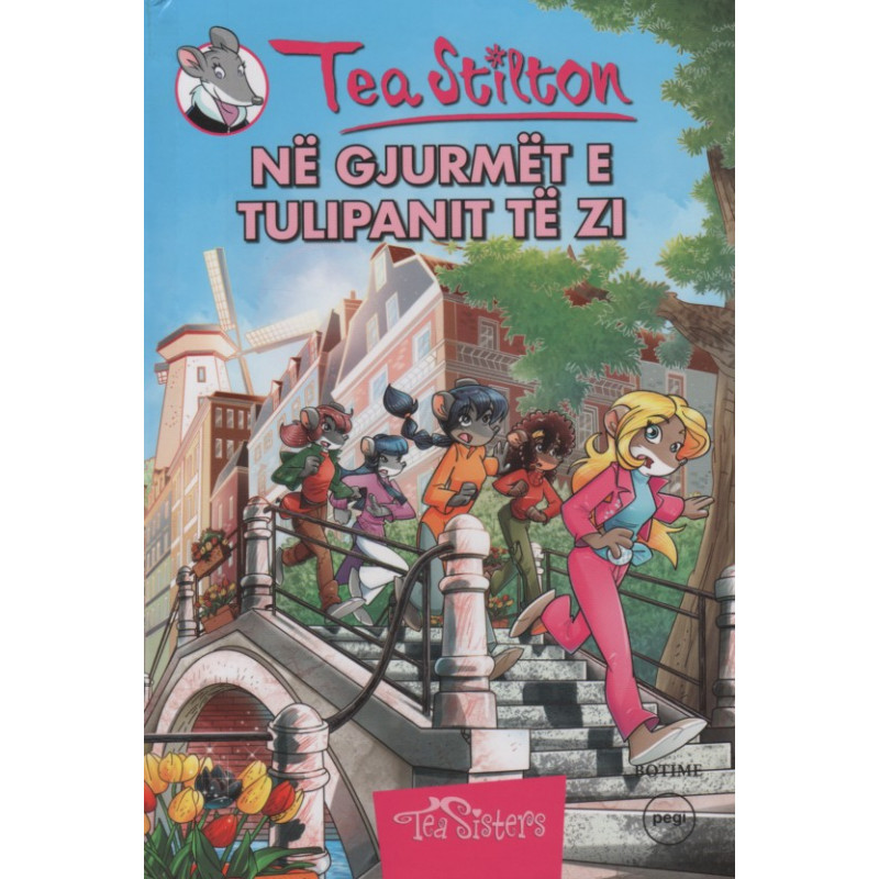 Tea Stilton, Ne gjurmet e Tulipanit te Zi