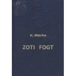 Zoti Fogt, Karl Marks
