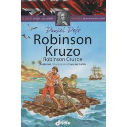 Robinson Kruzo, Daniel Defo, Klasiket Shqip-Anglisht