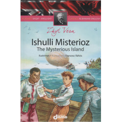 The Mysterious Island, Zhyl Vern, Classics Albanian-English