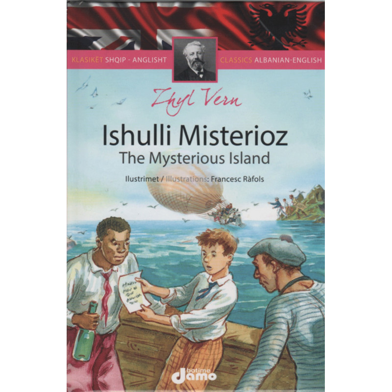 Ishulli Misterioz, Zhyl Vern, Klasiket Shqip-Anglisht