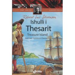 Treasure Island, Robert Lui Stivenson, Classics Albanian-English