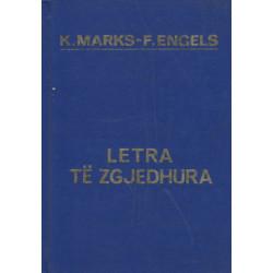Letra te zgjedhura, Karl Marks, Frederik Engels