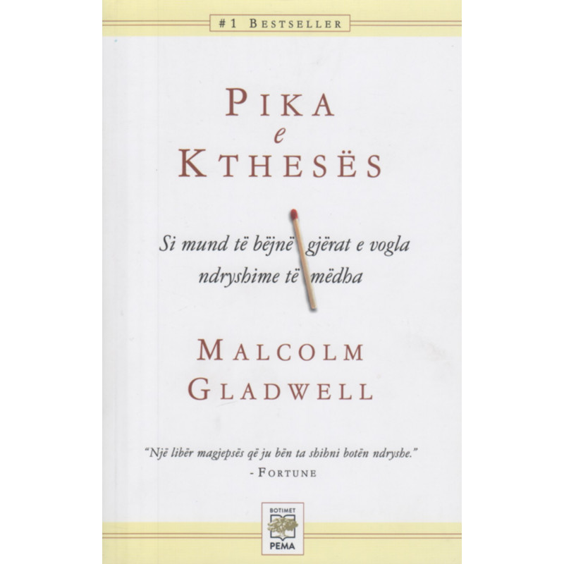 Pika e Ktheses, Malcolm Gladwell