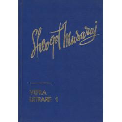 Shefqet Musaraj, Vepra letrare, vol. 1, 2, 3, 5, 6
