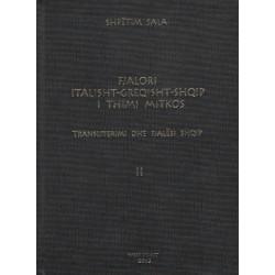 Fjalor Italisht – Greqisht – Shqip, Thimi Mitko