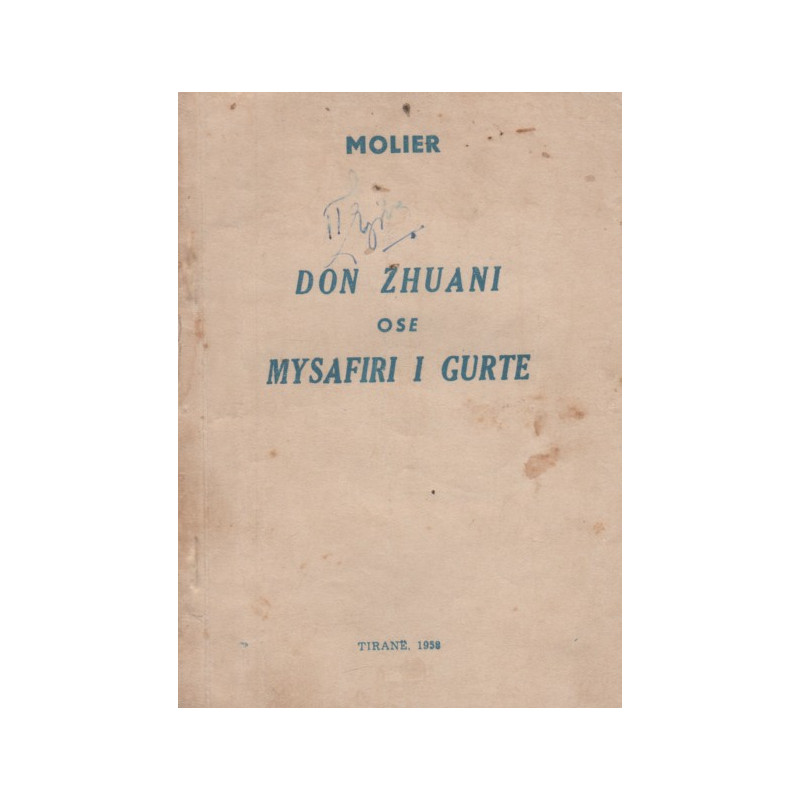 Don Zhuani ose mysafiri i gurte, Molieri