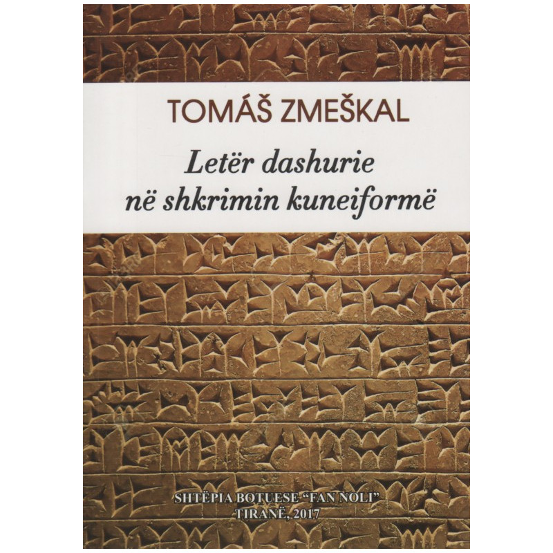 Leter dashurie ne shkrimin kuneiforme, Tomas Zmeskal