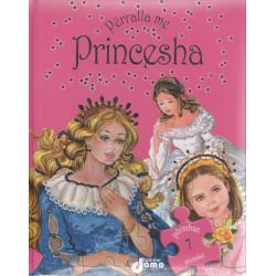 Perralla me Princesha,  me 7 mozaike (kopertine e trashe)