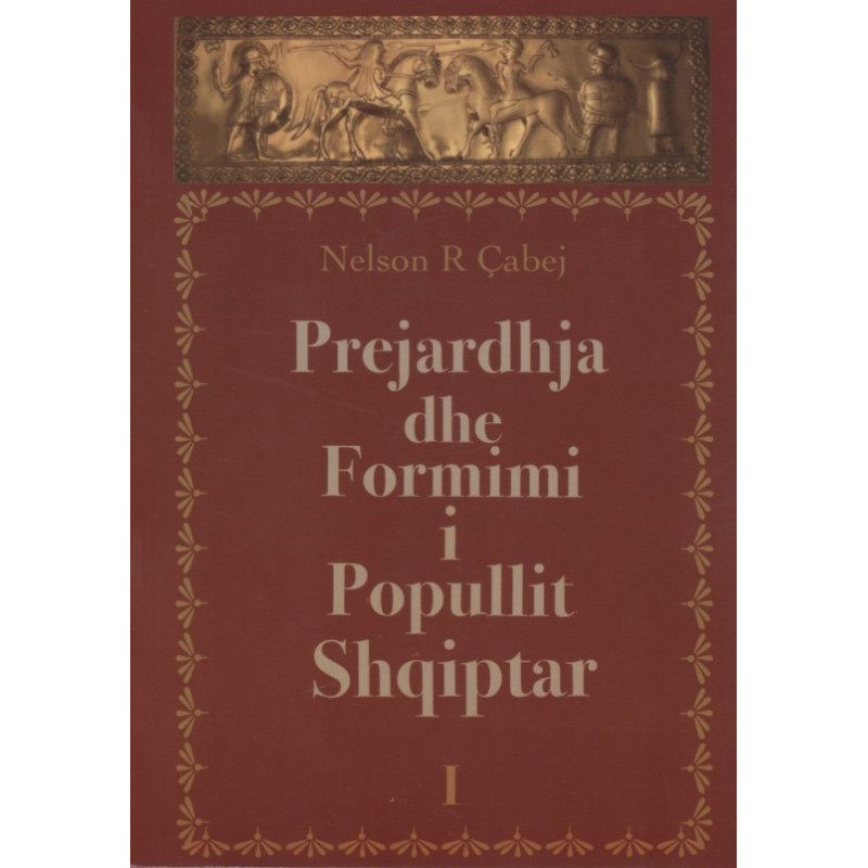 Prejardhja dhe formimi i popullit shqiptar, Nelson R. Cabej