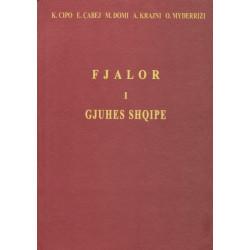Fjalor i gjuhes shqipe, 1954