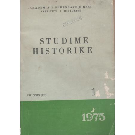 Studime historike 1975, vol.1
