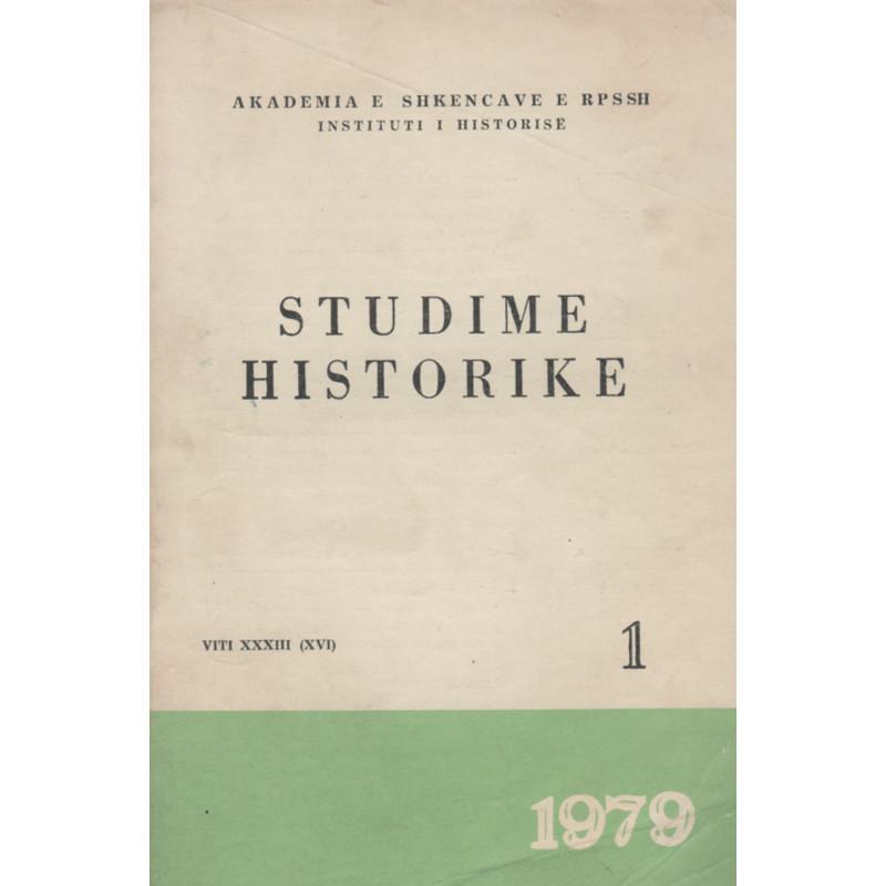 Studime historike 1979, vol.1