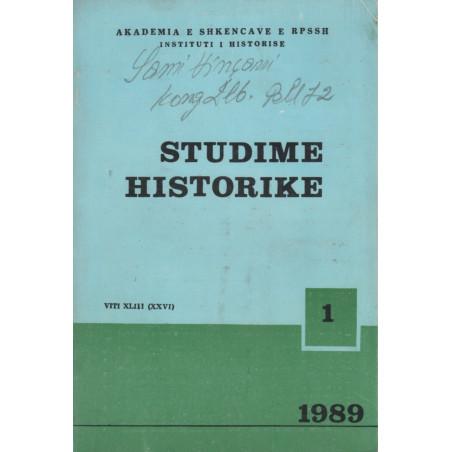 Studime historike 1989, vol.1