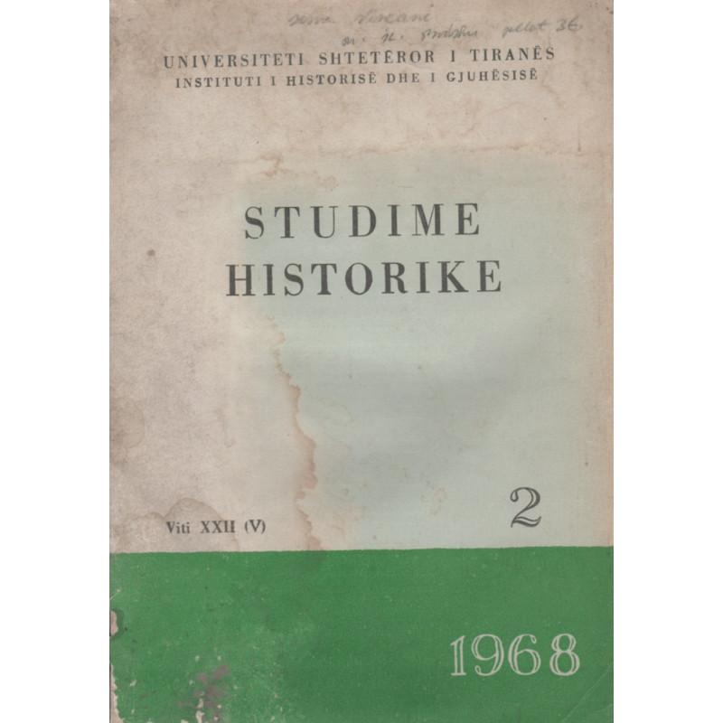 Studime historike 1968, vol.2