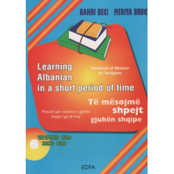 Learning Albanian in a short period of time,Bahri Beci, Merita Bruci
