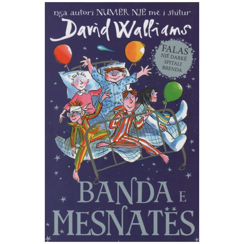 Banda e mesnates, David Walliams
