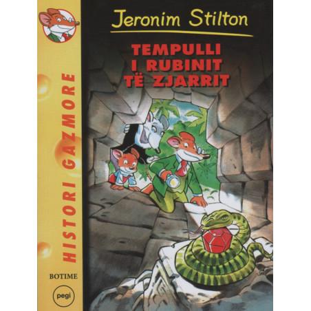Jeronim Stilton, Tempulli i Rubinit te Zjarrit