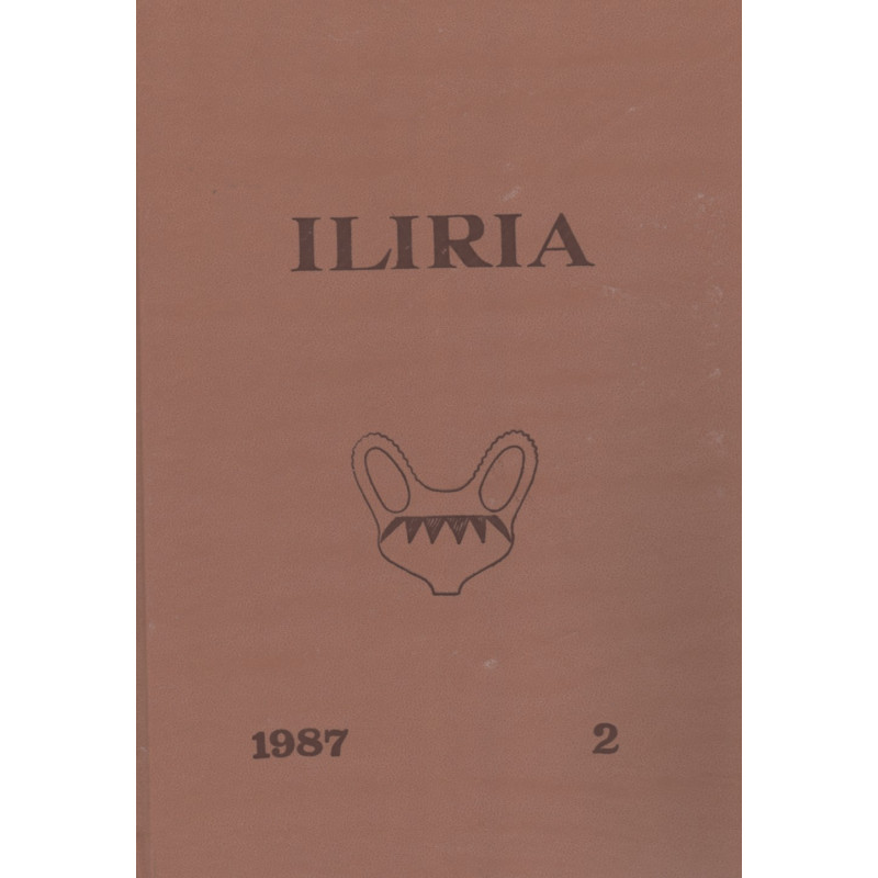 Iliria 1987, vëllimi i dytë (kopertinë e trashë), Grup Autoresh