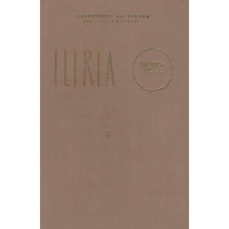 Iliria 1972, vëllimi i dyte (kopertinë e trashë), Frengjisht