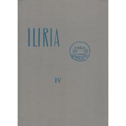 Iliria 1972, vëllimi i kater (kopertinë e trashë), Frengjisht