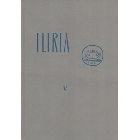 Iliria 1972, vëllimi i peste (kopertinë e trashë), Frengjisht