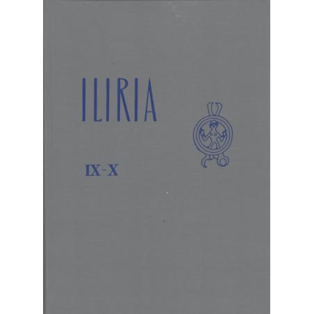 Iliria 1979-1980, vëllimi i nente-dhjete (kopertinë e trashë), Shqip-Frengjisht