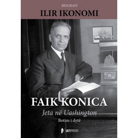 Faik Konica, jeta ne Uashington, Ilir Ikonomi