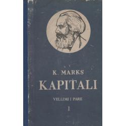 Kapitali 1, vëllimi 1-2-3, Karl Marks