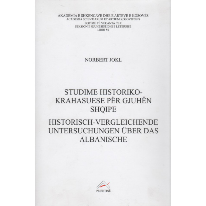 Studime historiko – krahasuese per gjuhen shqipe, Norbert Jokl