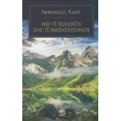 Mbi te bukuren dhe te madherishmen, Immanuel Kant