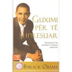 Guximi per te shpresuar, Barack Obama