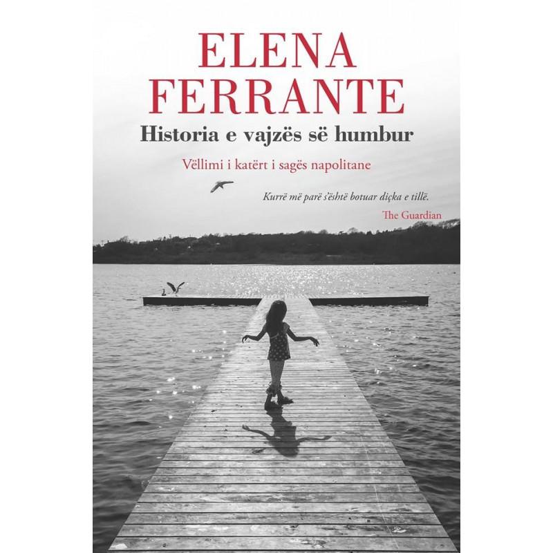 Historia e vajzes se humbur, Elena Ferrante