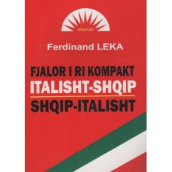 Fjalor i ri kompakt italisht - shqip, shqip - italisht, Ferdinand Leka