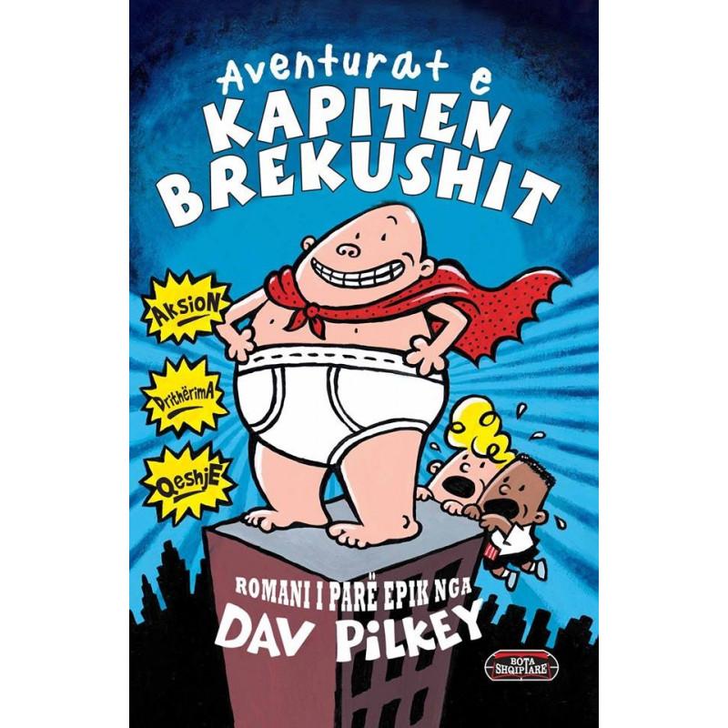 Aventurat e kapiten Brekushit, Dav Pilkey, libri i pare