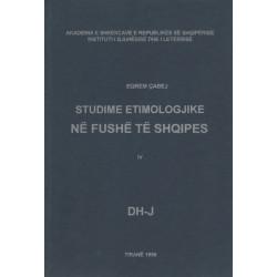 Studime etimologjike, vol. 4, Eqrem Cabej