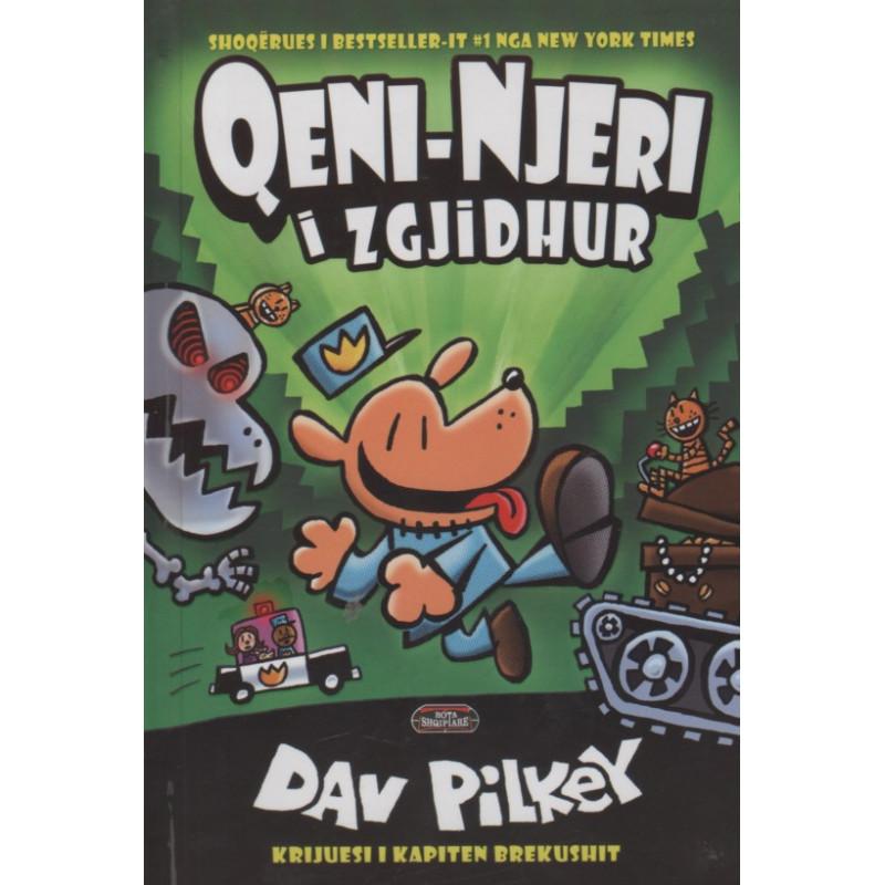 Qeni - njeri i zgjidhur, Dav Pilkey, libri i dyte