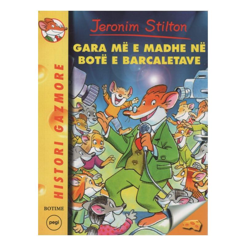 Jeronim Stilton, Gara më e madhe në botë e barcaletave, libri 24