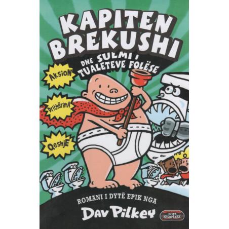 Kapiten brekushi dhe sulmi i tualeteve folëse, Dav Pilkey, libri i dytë