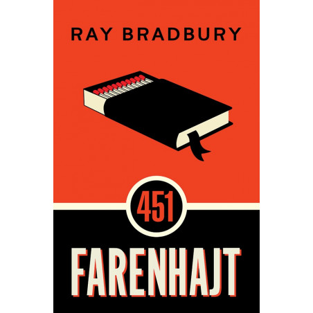 451 Farenhajt, Ray Bradbury